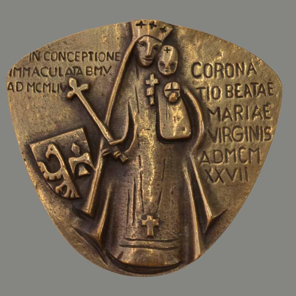 Marian plaquette