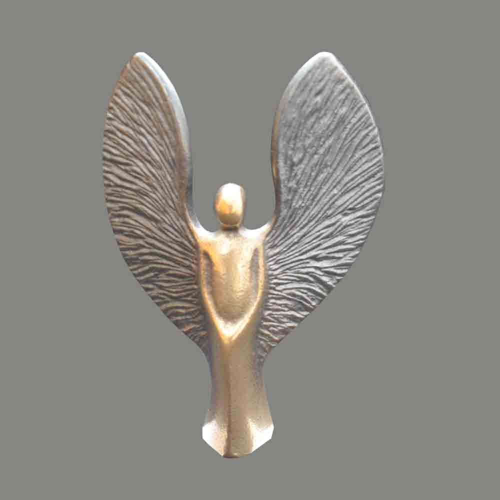 Angel with rough wings, small