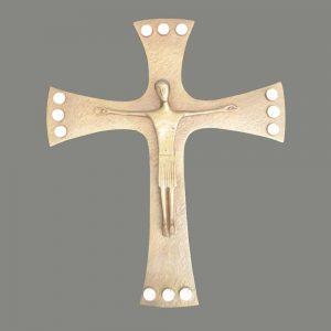Kreuz Mit Bergkristallen