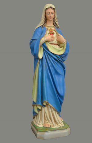 Madonna, Blaues Gewand