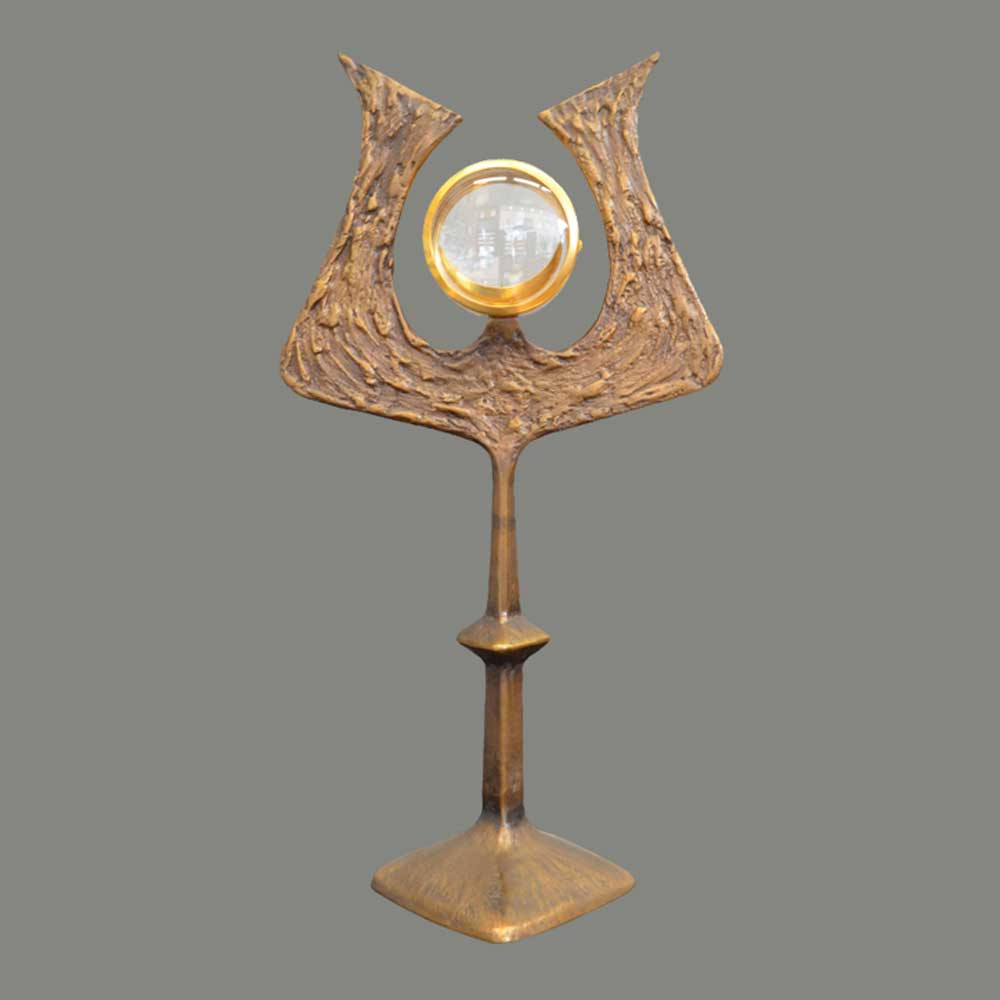 Monstrance bronze