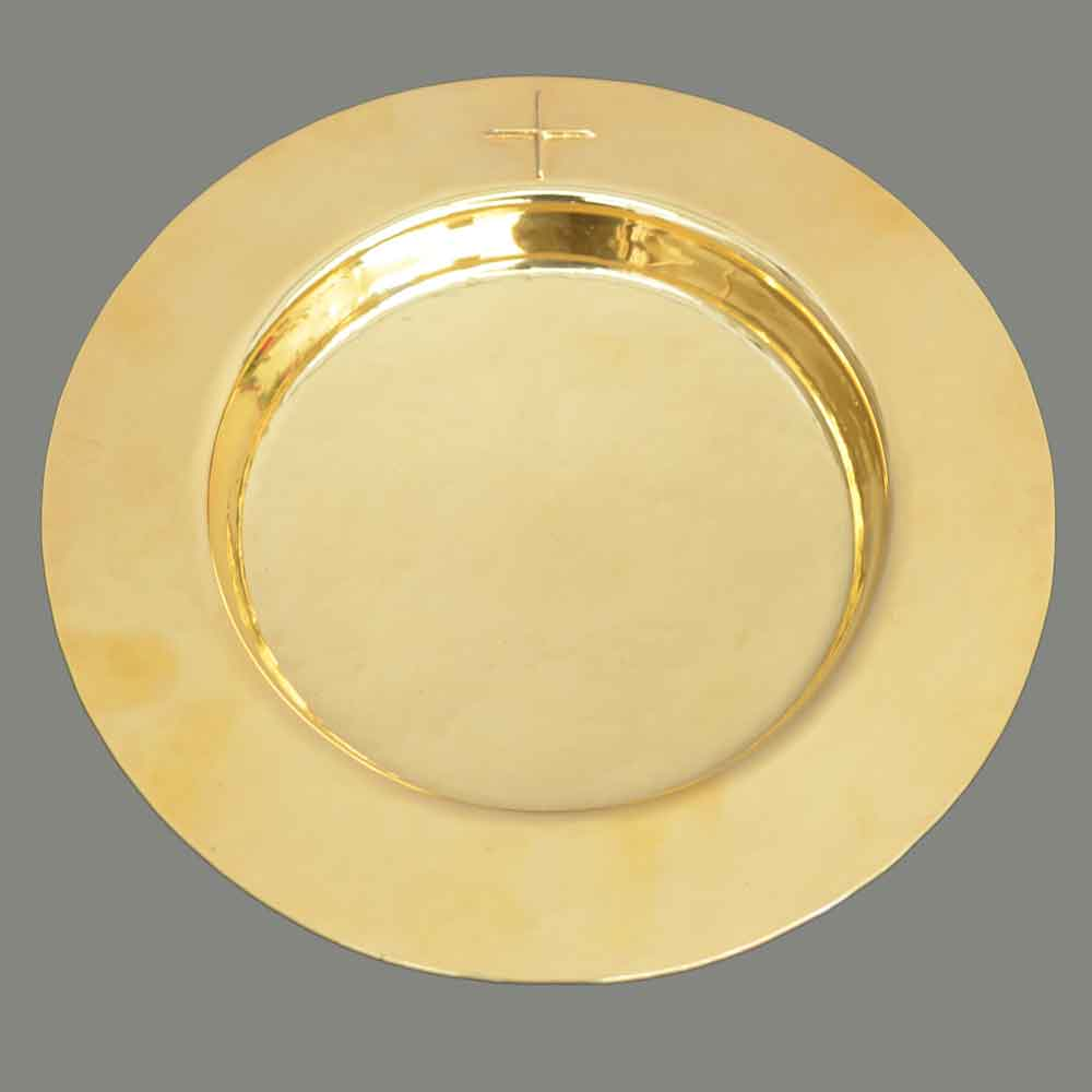 Plate paten, real silver