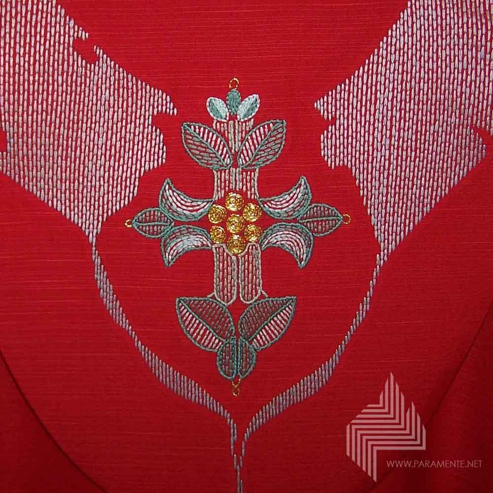 Blattkreuz Rot 4
