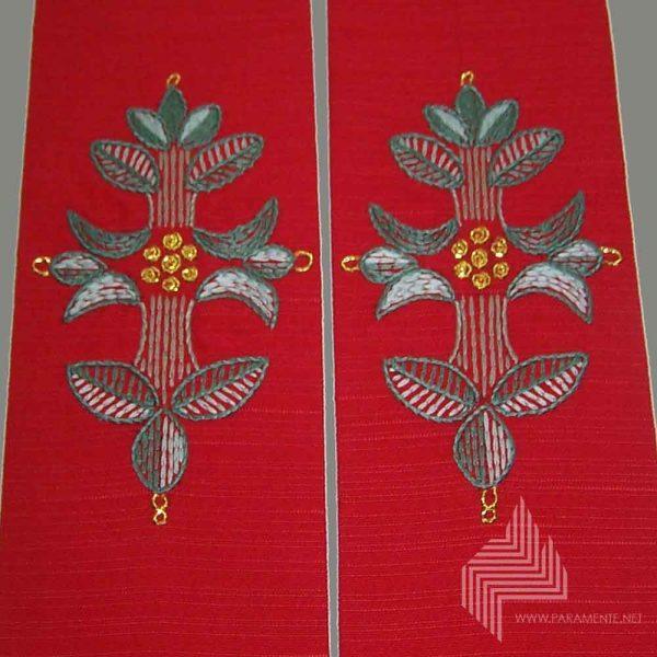 Blattkreuz Rot 5