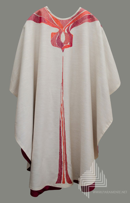Angel IV red embroidered
