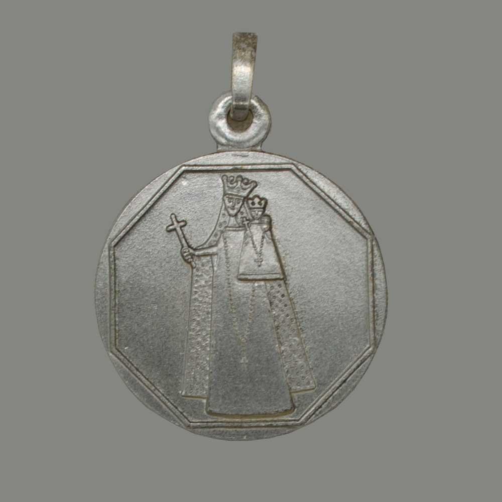 Onze Lieve Vrouw van Aken, zilver 925 geborstelde hanger