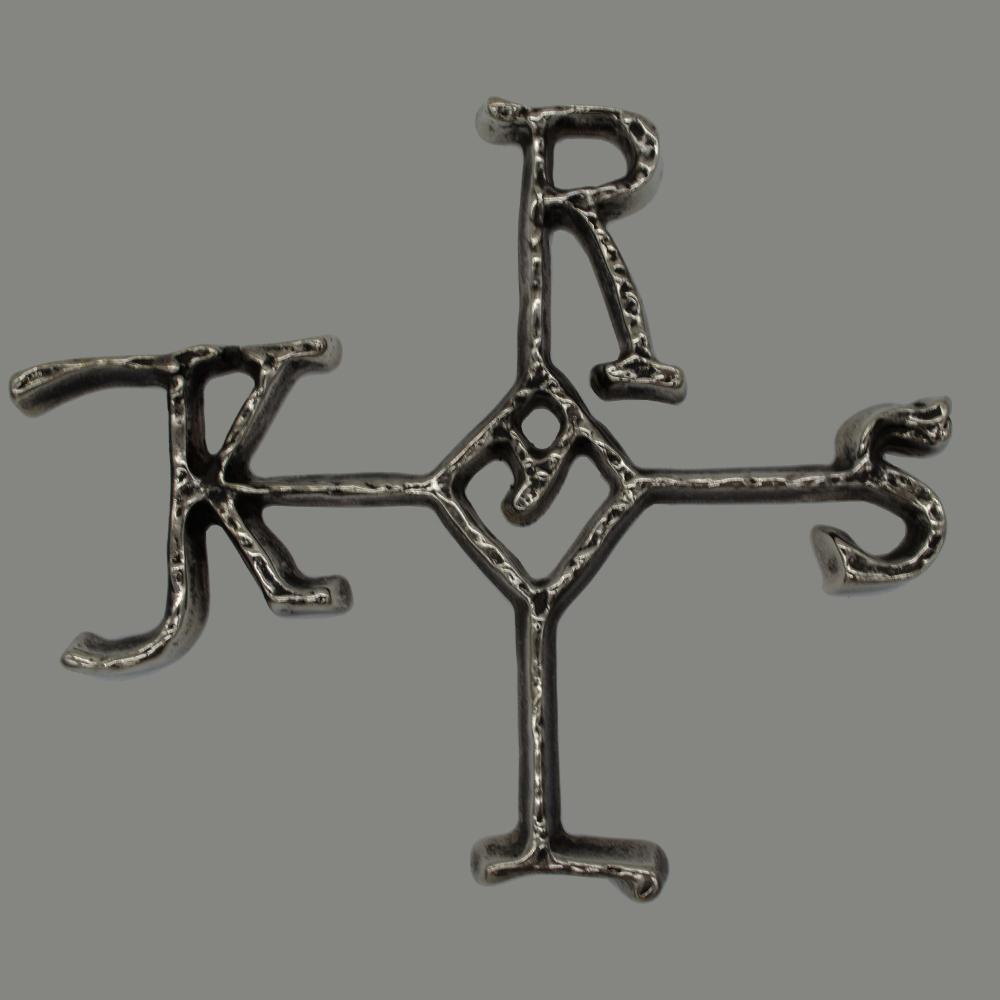Karlskreuz nikkel zilver