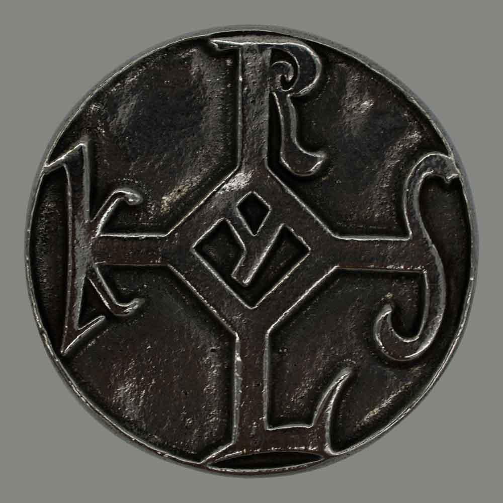 Il sigillo di Carlo in alpacca