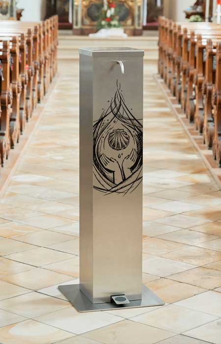 Exclusive design holy water dispenser