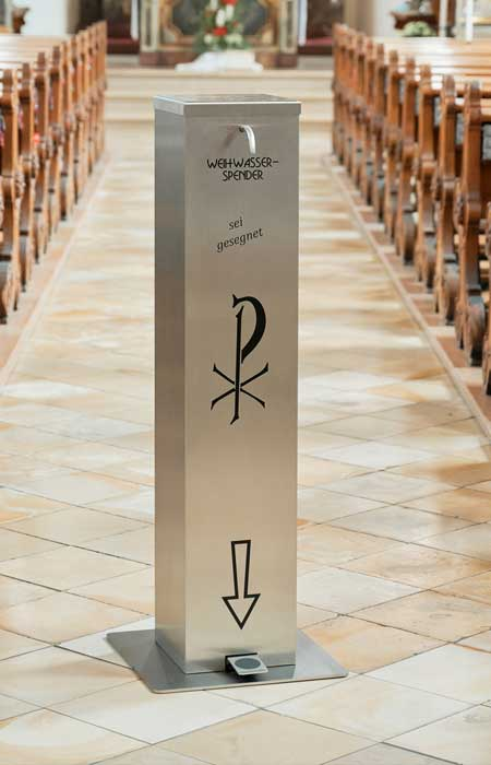 Holy water dispenser