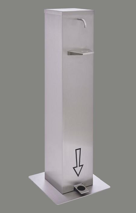 Low maintenance disinfectant dispenser