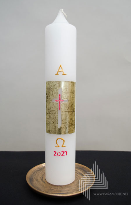 Easter candle 001