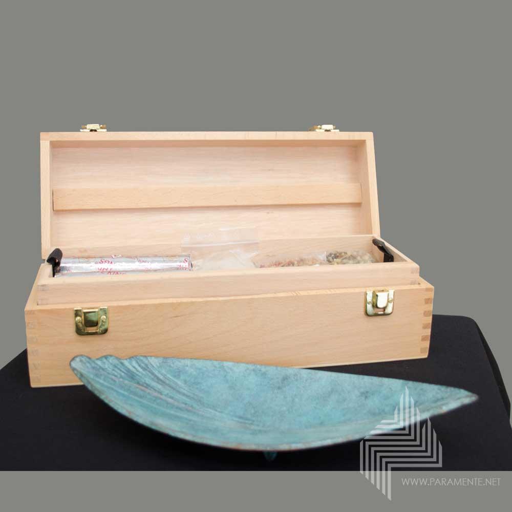 Weihrauchschale Im Holzkoffer