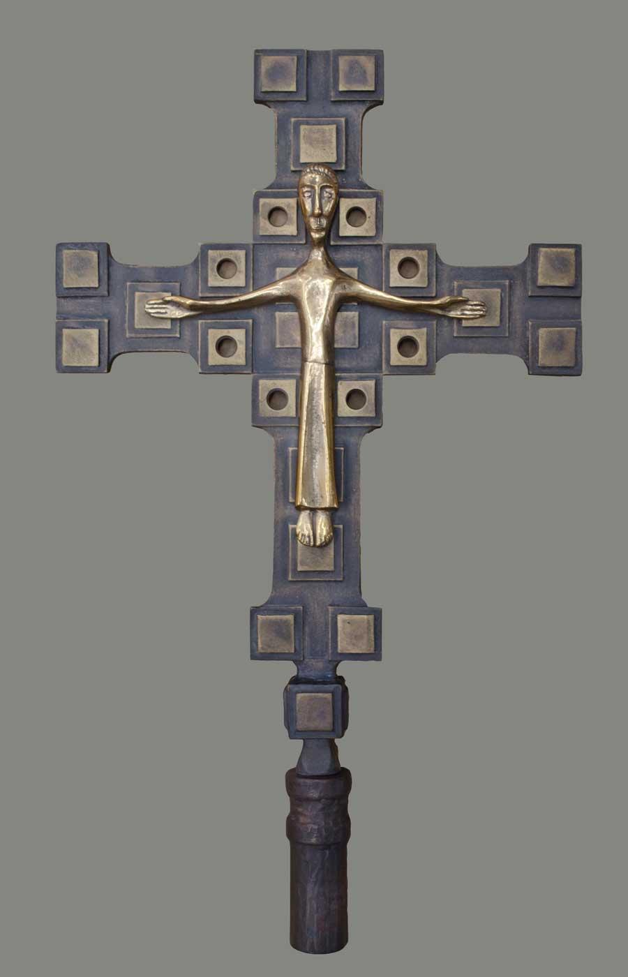 Lecture cross bronze